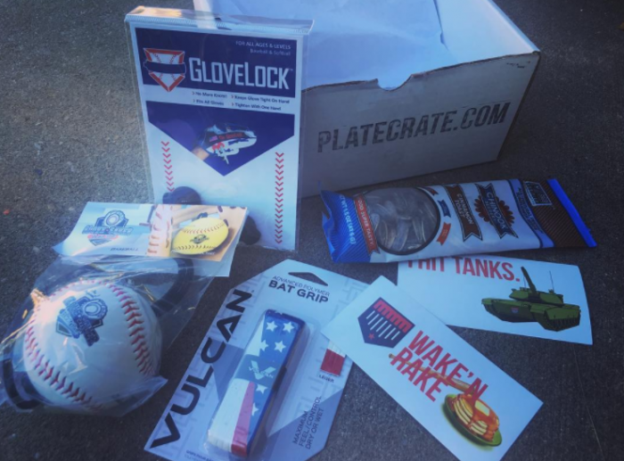 Plate Crate Review | Subscription Baseball Presents